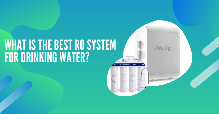 What is the best reverse osmosis system for drinking water