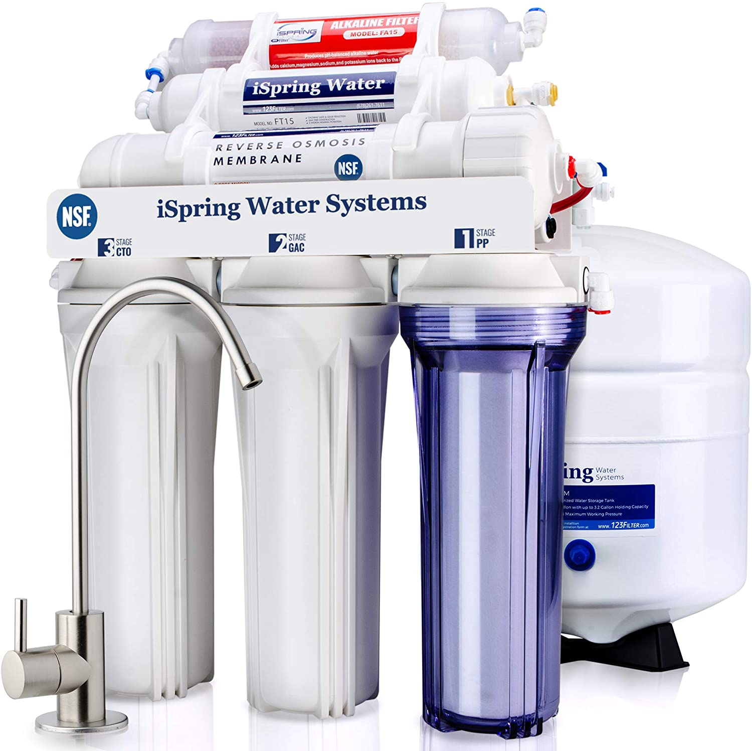 reverse osmosis system for well water and aquariums